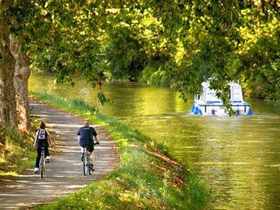 Camping L'air Marin : Canal