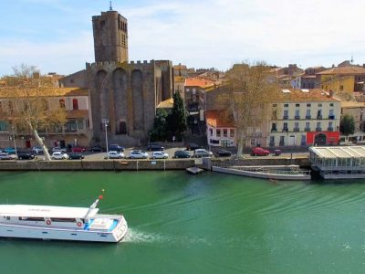 Air Marin Campsite: Agde Cathedral