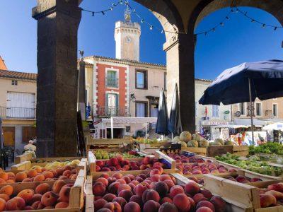 Camping L'air Marin: Markt van Vias F34 Hérault