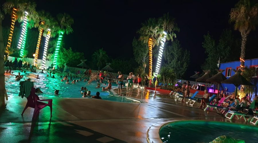 Camping L'air Marin : Animations pool party
