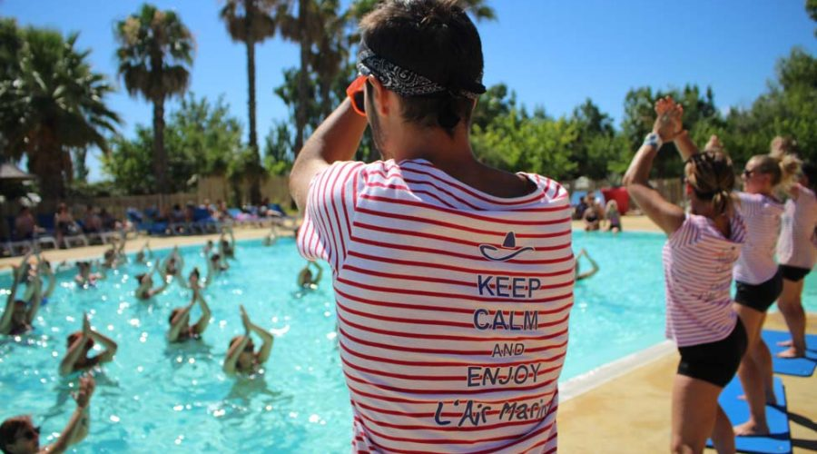 Camping L'air Marin : Animation Piscine