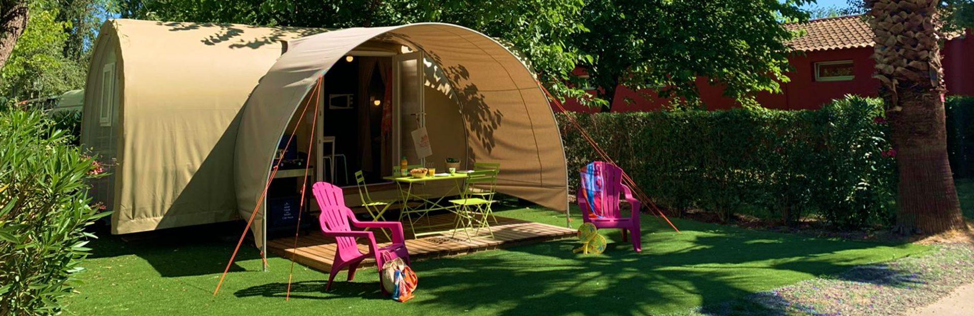 Camping L'air Marin : Coco Sweet Principale