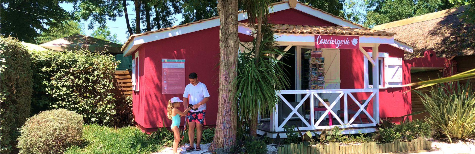 Camping L'air Marin : Conciergerie