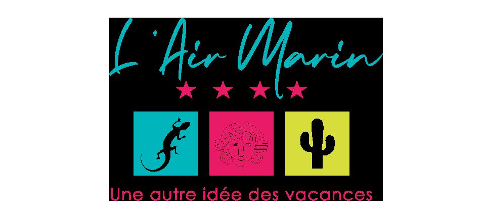 Camping L'air Marin : Logo Air Marin 2020 Extrude