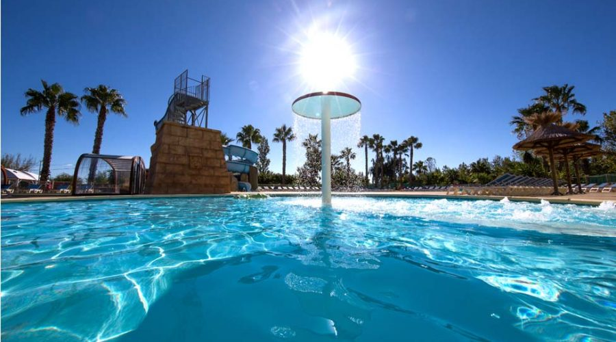 Camping L'air Marin : Parc Aquatique