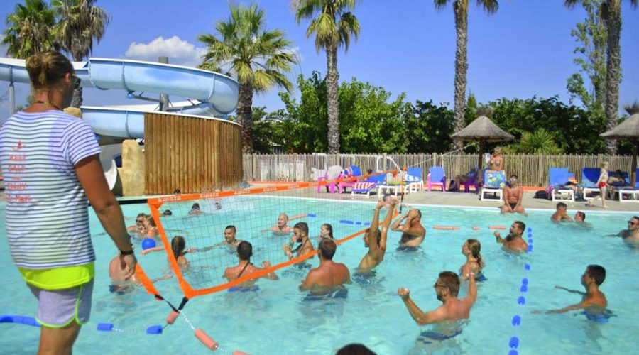Camping L'air Marin : Piscine