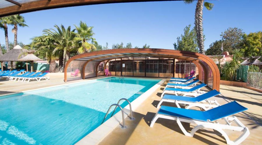 Camping L'air Marin : Piscine Couverte