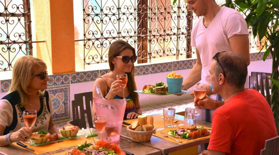 Camping L'air Marin: restaurant