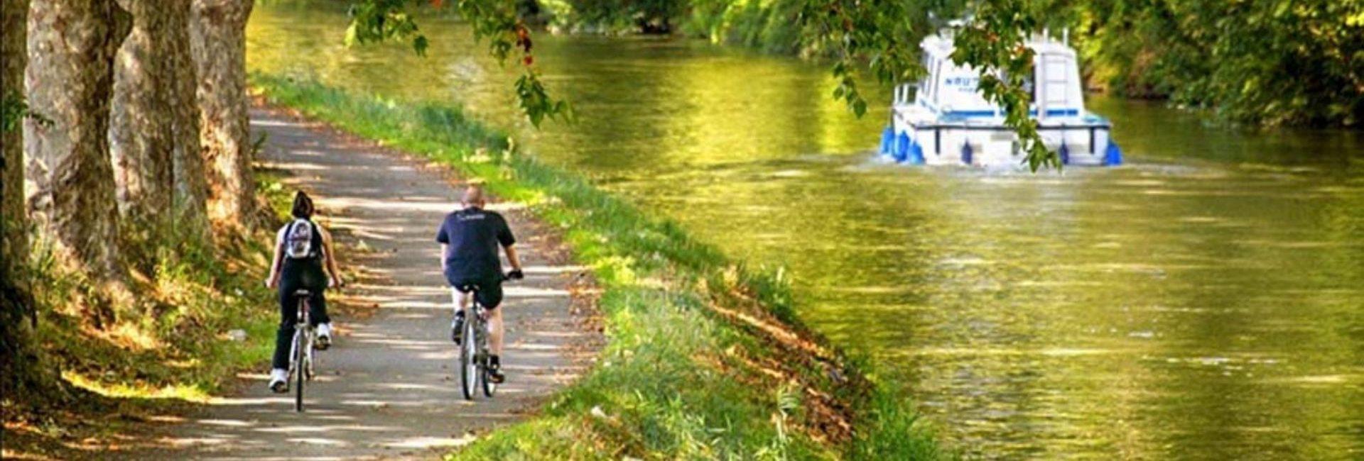 Camping L'air Marin : Balade à Vélo Le Long Du Canal Du Midi