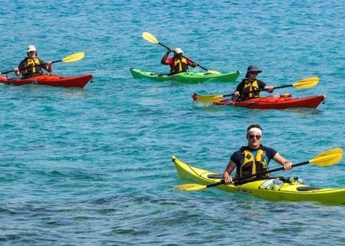 Camping L'air Marin : Canoë En Mer (2)